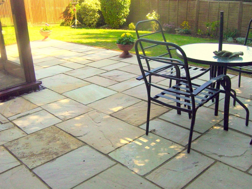 Patio by Indigo Landscapers, Northamptonshire